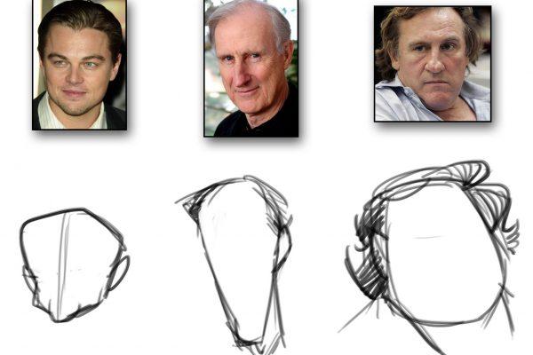 Karikatur zeichnen lernen - Anleitung - Demo 1 - Bild 1