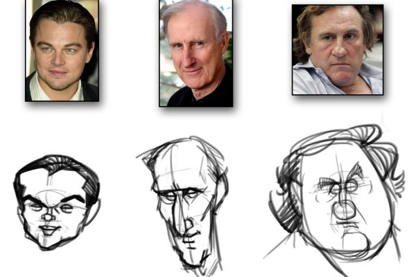 Karikatur zeichnen lernen - Anleitung - Demo 1 - Bild 3