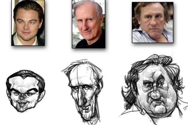 Karikatur zeichnen lernen - Anleitung - Demo 1 - Bild 4