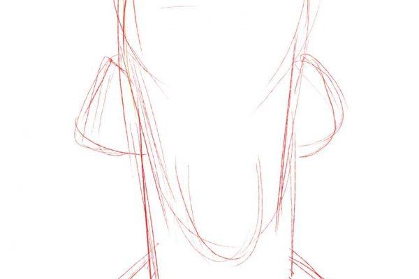 Karikatur Zeichnen Demo Nicolas Cage 01
