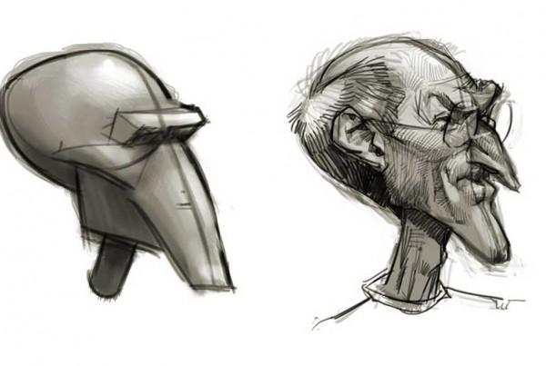 Karikatur Zeichnen Lernen Archive - Schnellzeichner, Karikaturist Xi ... Leonardo Dicaprio