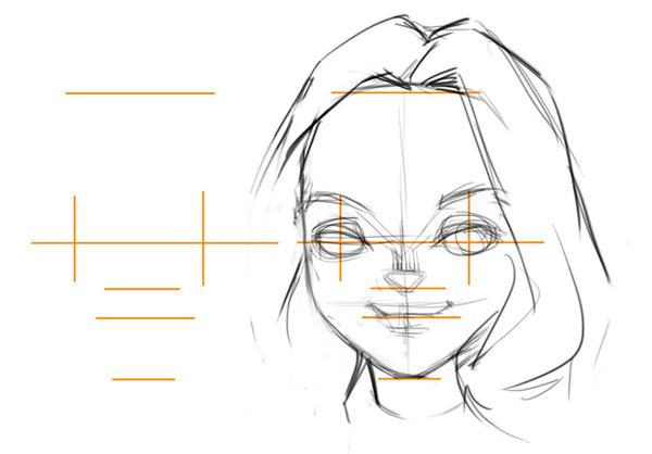 Karikatur Zeichnen Lernen - Exaggeration Demo - Bild 3