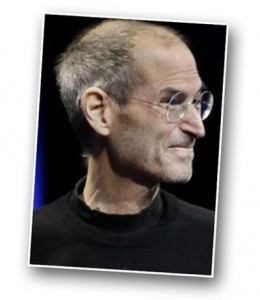 Steve Jobs Karikatur Foto Referenz