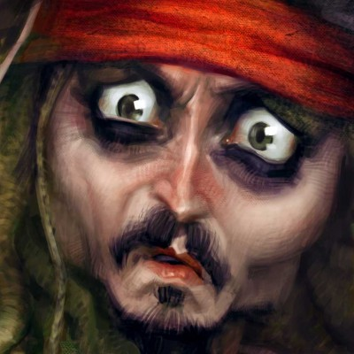 Karikatur_Johnny_Depp_Close_Up