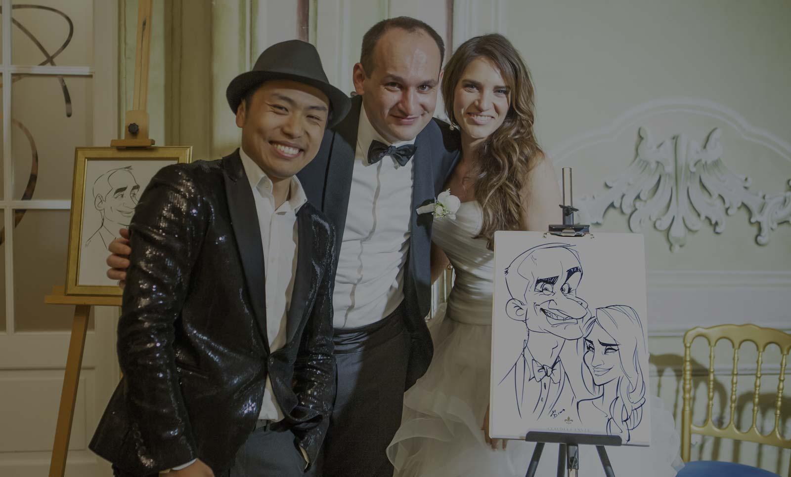 Schnellzeichner / Karikaturist für Hochzeiten