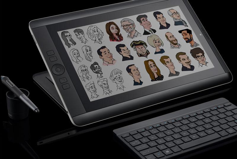 Live Karikatur Digital